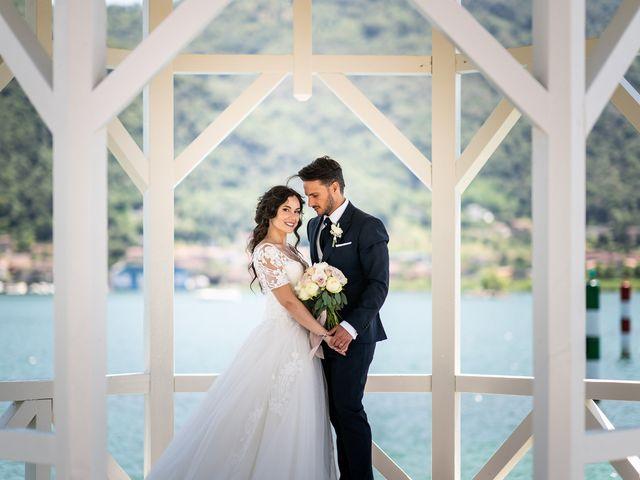 Il matrimonio di Damiano e Veronica a Gussago, Brescia 19