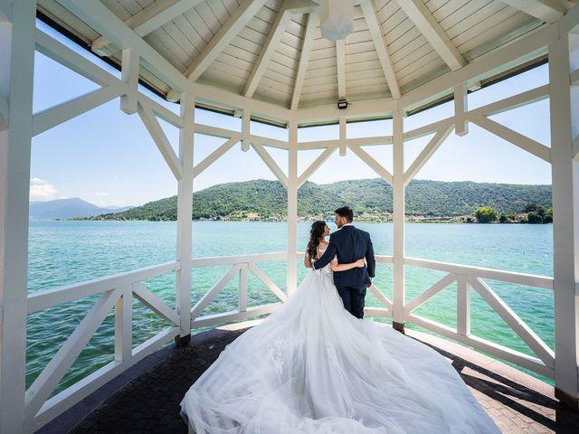 Il matrimonio di Damiano e Veronica a Gussago, Brescia 20