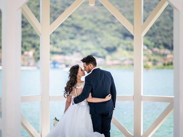 Il matrimonio di Damiano e Veronica a Gussago, Brescia 21