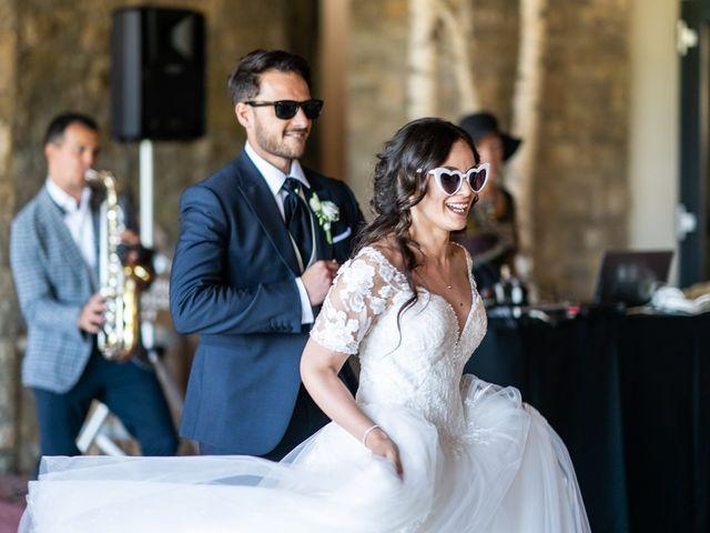 Il matrimonio di Damiano e Veronica a Gussago, Brescia 25