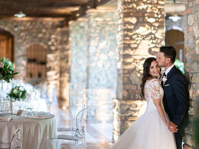 Il matrimonio di Damiano e Veronica a Gussago, Brescia 26
