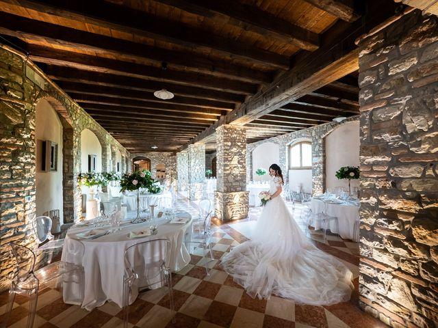Il matrimonio di Damiano e Veronica a Gussago, Brescia 28