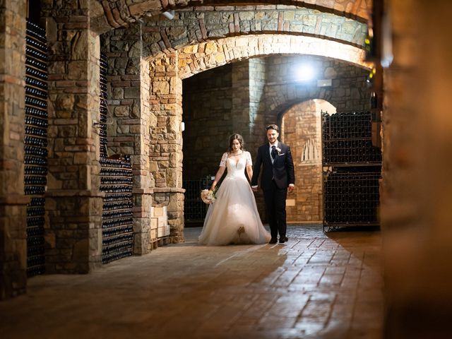 Il matrimonio di Damiano e Veronica a Gussago, Brescia 29