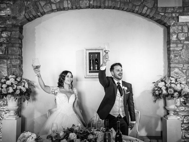 Il matrimonio di Damiano e Veronica a Gussago, Brescia 30