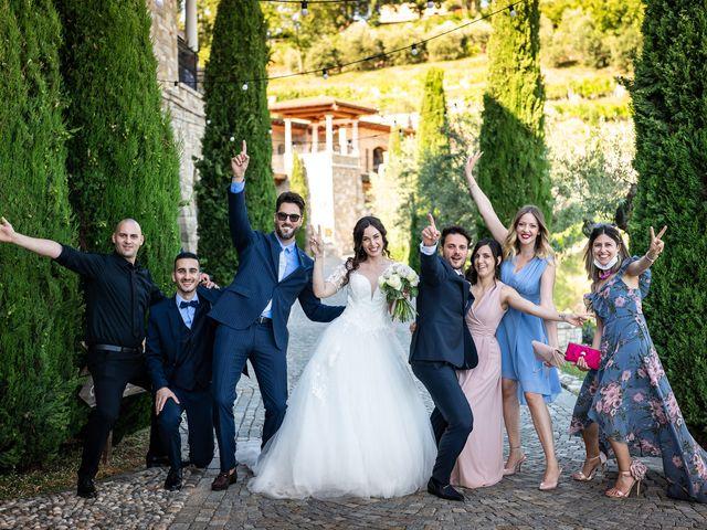 Il matrimonio di Damiano e Veronica a Gussago, Brescia 31