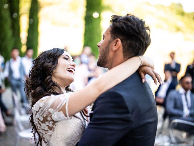 Il matrimonio di Damiano e Veronica a Gussago, Brescia 32