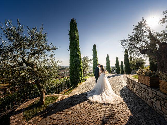 Il matrimonio di Damiano e Veronica a Gussago, Brescia 36