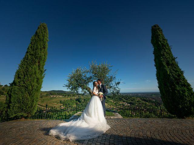 Il matrimonio di Damiano e Veronica a Gussago, Brescia 37