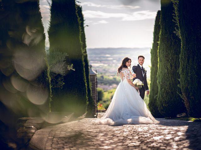 Il matrimonio di Damiano e Veronica a Gussago, Brescia 38
