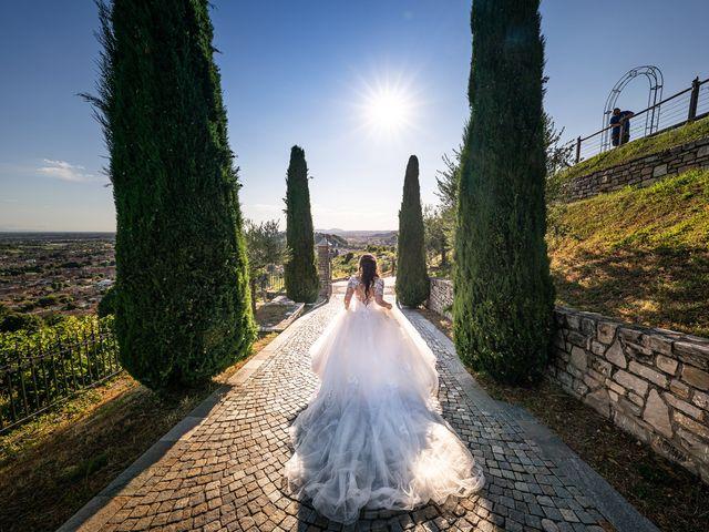 Il matrimonio di Damiano e Veronica a Gussago, Brescia 39