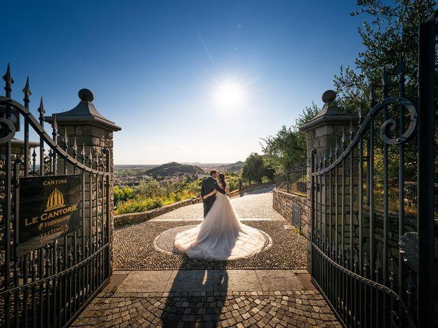 Il matrimonio di Damiano e Veronica a Gussago, Brescia 40
