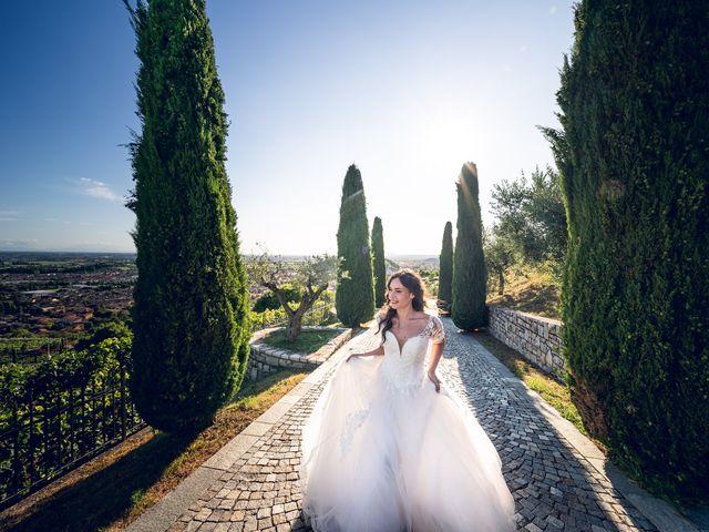 Il matrimonio di Damiano e Veronica a Gussago, Brescia 42