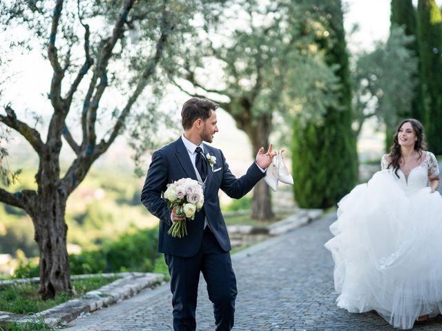 Il matrimonio di Damiano e Veronica a Gussago, Brescia 43
