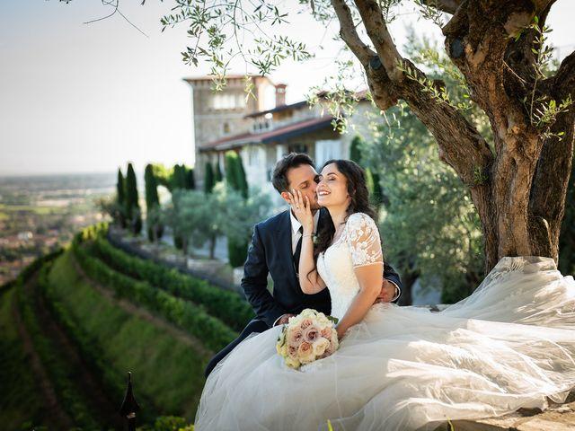 Il matrimonio di Damiano e Veronica a Gussago, Brescia 45