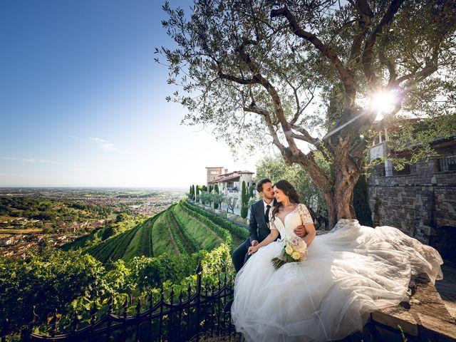 Il matrimonio di Damiano e Veronica a Gussago, Brescia 46