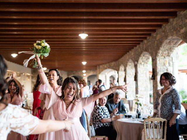 Il matrimonio di Damiano e Veronica a Gussago, Brescia 50