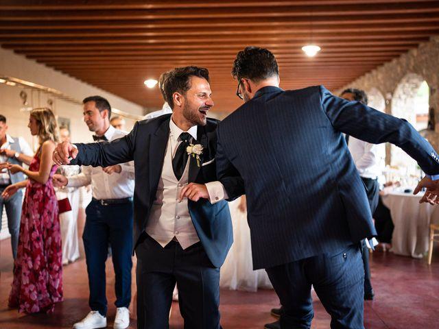 Il matrimonio di Damiano e Veronica a Gussago, Brescia 54