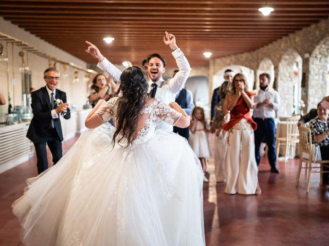 Il matrimonio di Damiano e Veronica a Gussago, Brescia 56