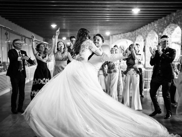 Il matrimonio di Damiano e Veronica a Gussago, Brescia 57