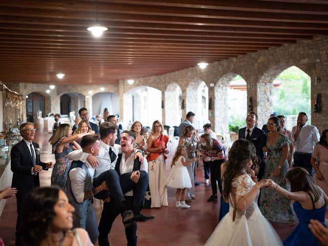 Il matrimonio di Damiano e Veronica a Gussago, Brescia 59