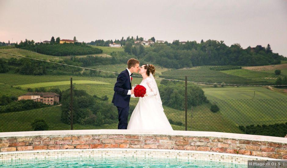 Il matrimonio di Andrea e Raluca a Costigliole d'Asti, Asti
