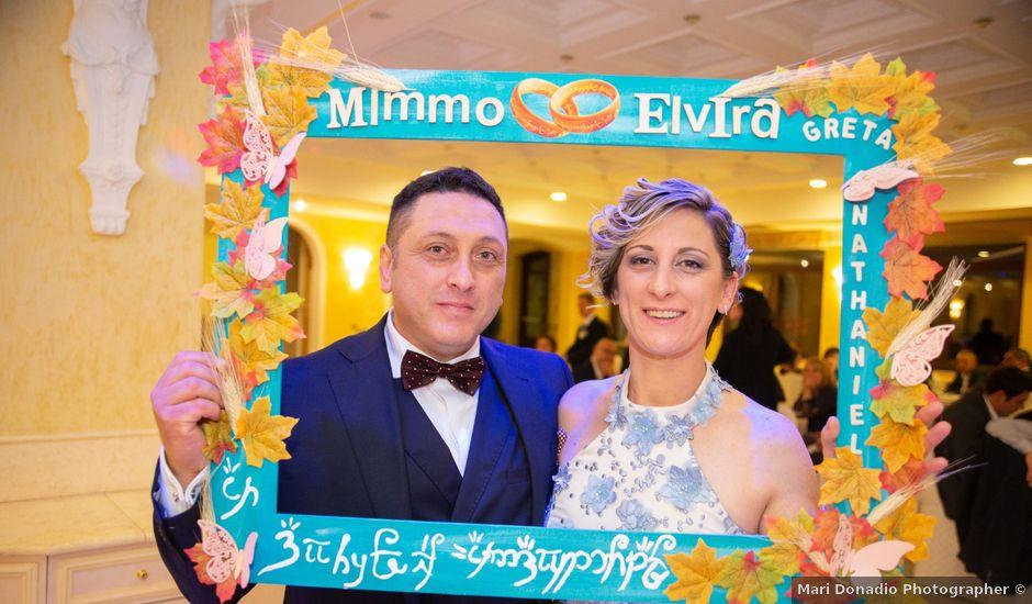 Il matrimonio di Mimmo e Elvira a Grumento Nova, Potenza