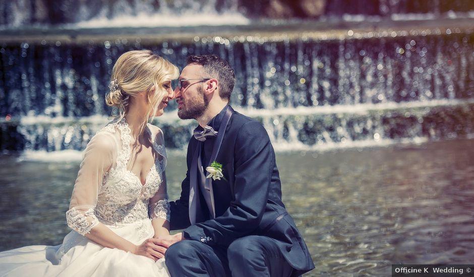 Il matrimonio di Federico e Laura a Tivoli, Roma