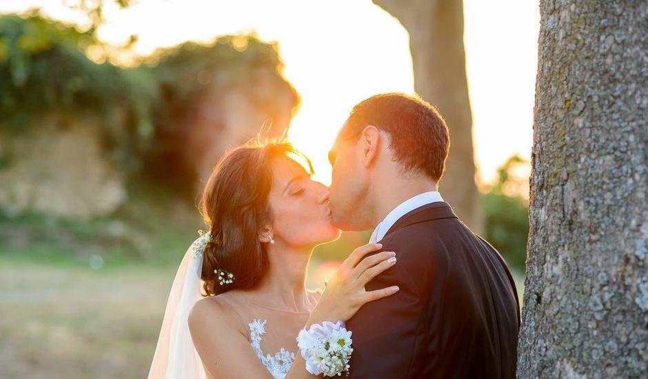 Il matrimonio di Davide e Hilary a Bellosguardo, Salerno