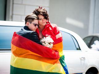Le nozze di Monica e Laura
