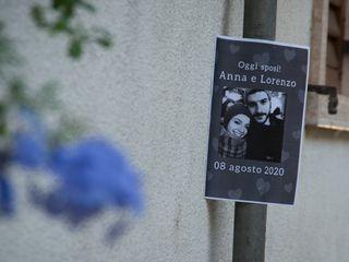Le nozze di Anna e Lorenzo 1