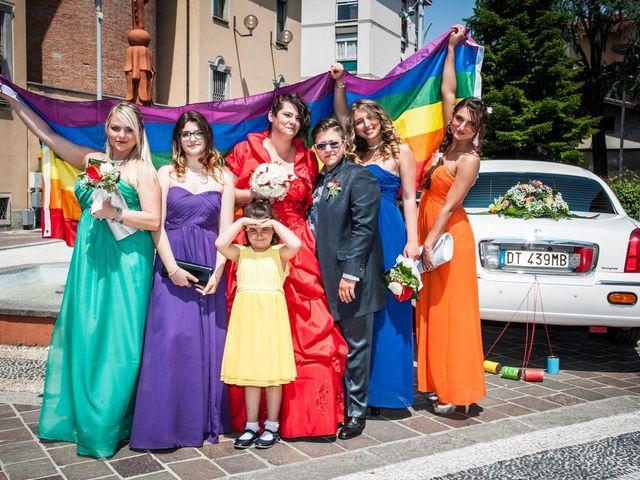Il matrimonio di Laura e Monica a Seregno, Monza e Brianza 1