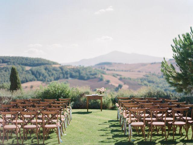 Il matrimonio di Robert e Annick a Pienza, Siena 1