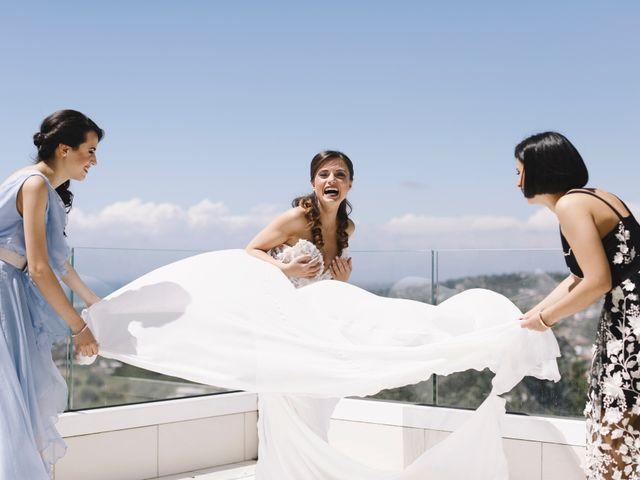 Il matrimonio di Luigi e Nunzia a Bacoli, Napoli 1