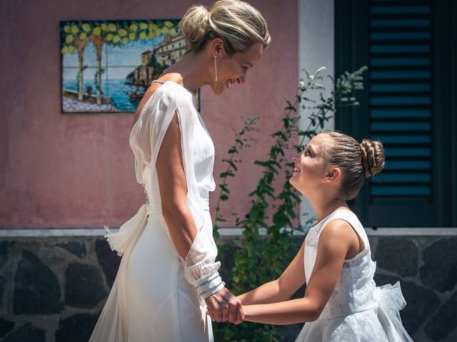 Il matrimonio di Alessandro e Stephanie a Maiori, Salerno 26