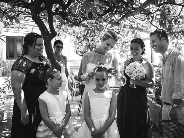 Il matrimonio di Alessandro e Stephanie a Maiori, Salerno 28
