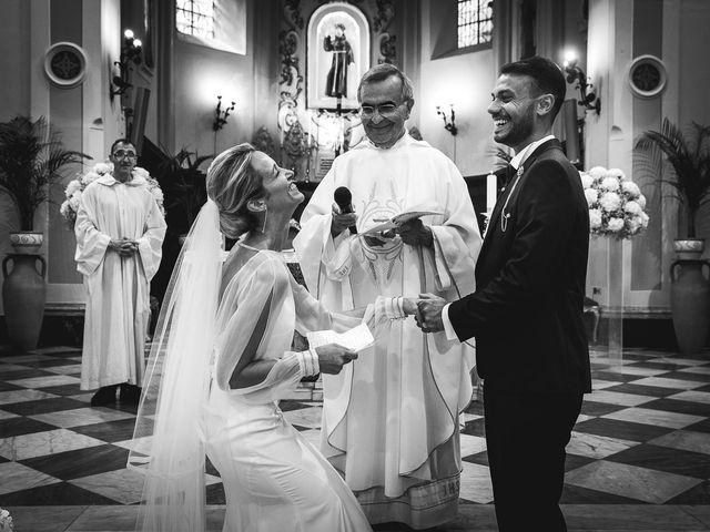 Il matrimonio di Alessandro e Stephanie a Maiori, Salerno 46