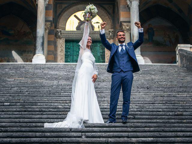 Il matrimonio di Alessandro e Stephanie a Maiori, Salerno 59
