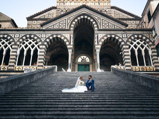 Il matrimonio di Alessandro e Stephanie a Maiori, Salerno 60