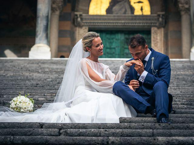 Il matrimonio di Alessandro e Stephanie a Maiori, Salerno 62