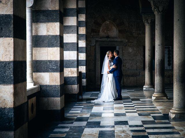 Le nozze di Stephanie e Alessandro