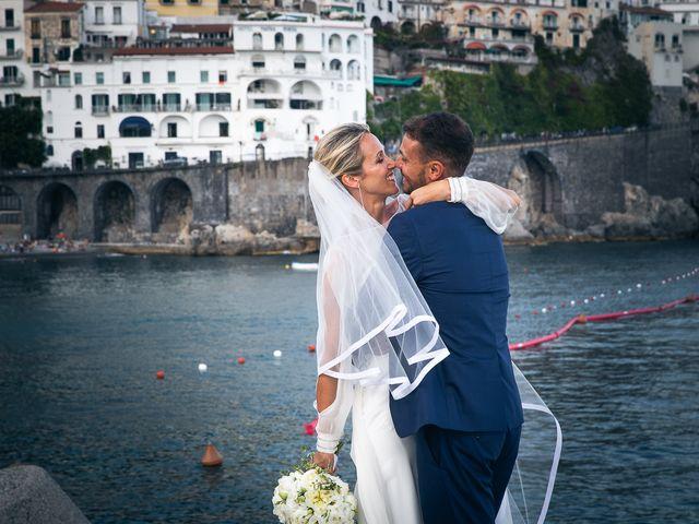 Il matrimonio di Alessandro e Stephanie a Maiori, Salerno 72