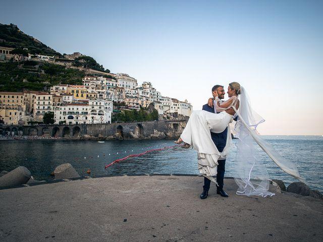 Il matrimonio di Alessandro e Stephanie a Maiori, Salerno 73
