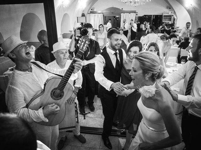 Il matrimonio di Alessandro e Stephanie a Maiori, Salerno 92