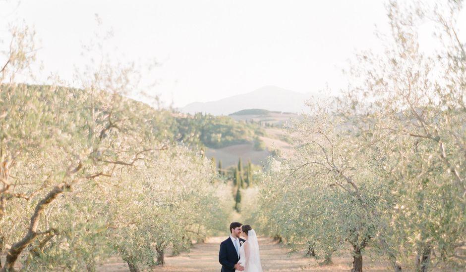 Il matrimonio di Robert e Annick a Pienza, Siena