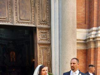 Le nozze di Romina e Giuseppe 1