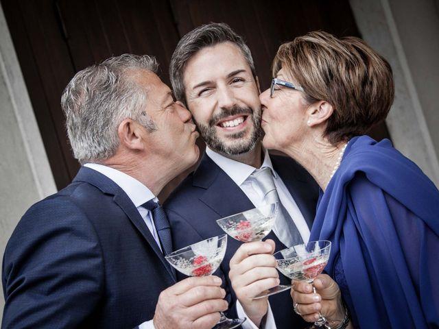 Il matrimonio di Matteo e Barbara a Pescantina, Verona 37