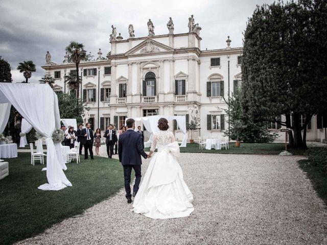 Il matrimonio di Matteo e Barbara a Pescantina, Verona 52