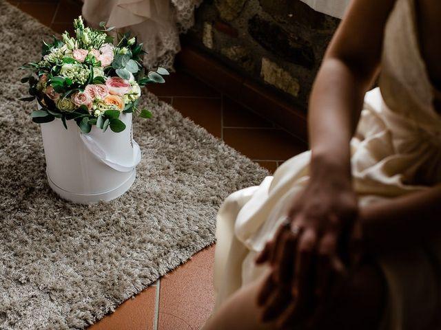 Il matrimonio di Virginia e Massimo a Carmignano, Prato 3