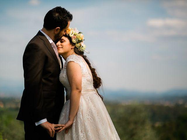 Il matrimonio di Virginia e Massimo a Carmignano, Prato 1