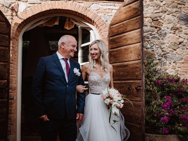 Il matrimonio di Marco e Veronica a Buti, Pisa 35